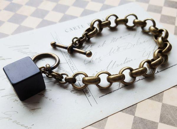 CUBE - Bakelite Bracelet