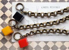 CUBE - Bakelite Bracelet, Set of 2