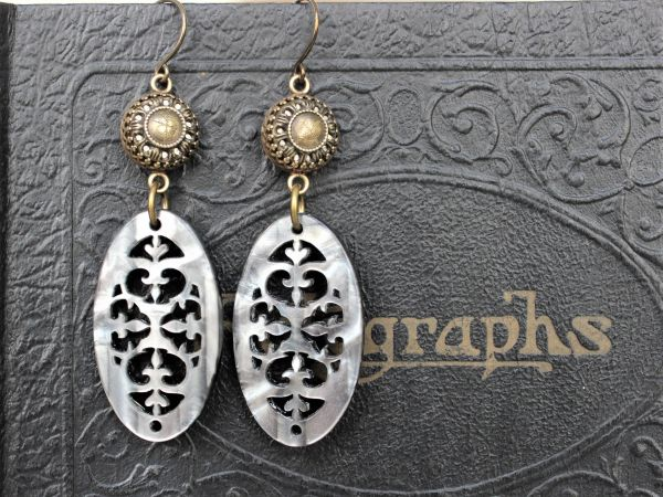 JENNE - Filigree Earrings