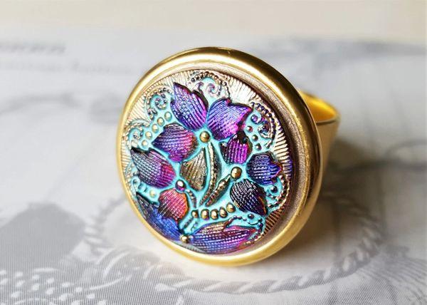 MELISSA - Czech Glass Ring