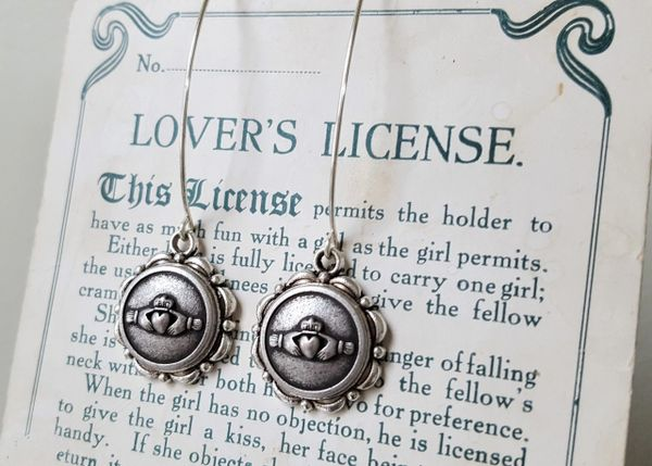 Irish CLADDAGH Earrings