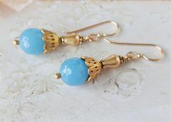 SKY - Sky Blue Drop Earrings