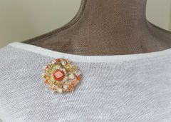 DENISE - Textile Brooch