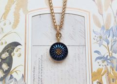 TRUE BLUE - Czech Glass Necklace