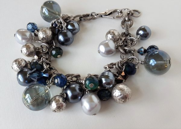 DENA - Ocean Blue Beaded Bracelet