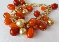 ORA - Orange Beaded Bracelet