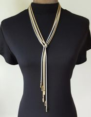 The Long Skinny Wrap Necklace