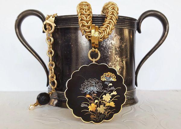 SAI - Japanese Floral Necklace