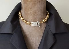 LUXE- Super Chunky Toggle Necklace
