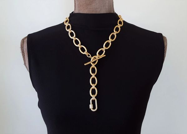 The CLASSIC Convertible - Toggle Clasp Necklace