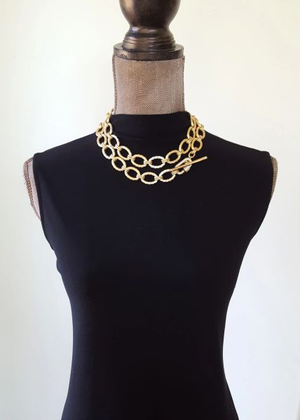 The CLASSIC - Long Toggle Clasp Necklace