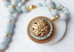 MARTINE - Aquamarine Necklace