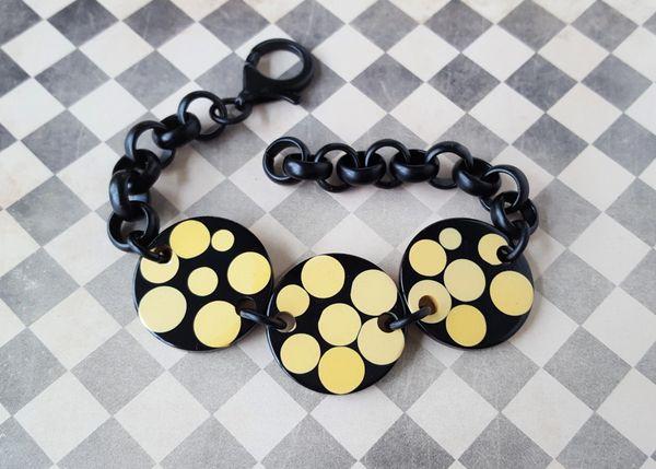 DOTTIE - Polka Dot Bakelite Bracelet
