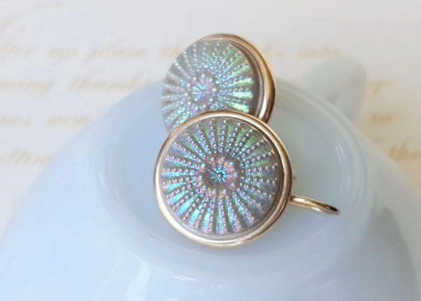 URCHIN - Czech Glass Earrings