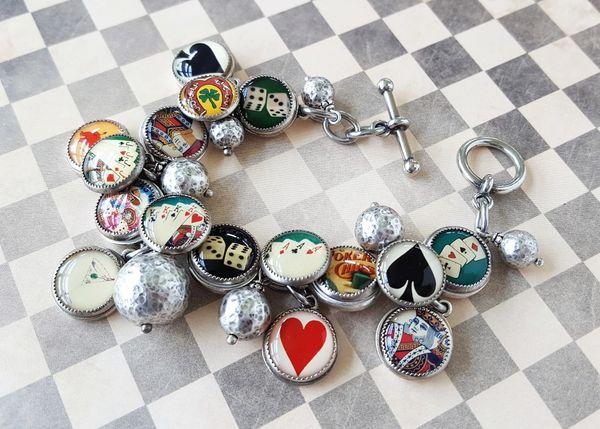 VEGAS - Casino Inspired Charm Bracelet