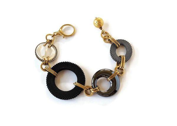 RONA Bracelet - Circles Statement Bracelet