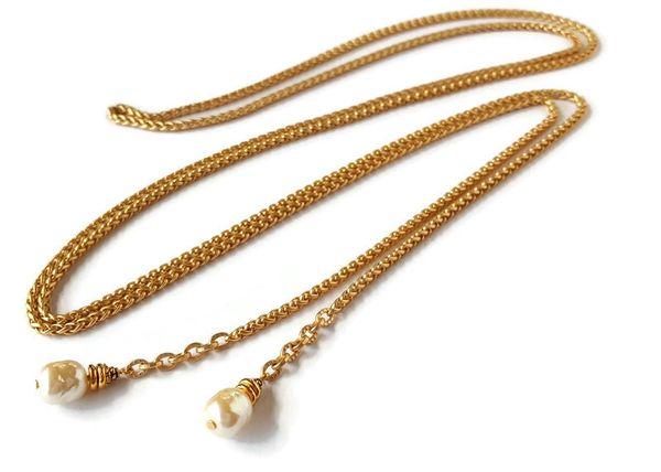 ANA - Baroque Pearl Wrap Necklace