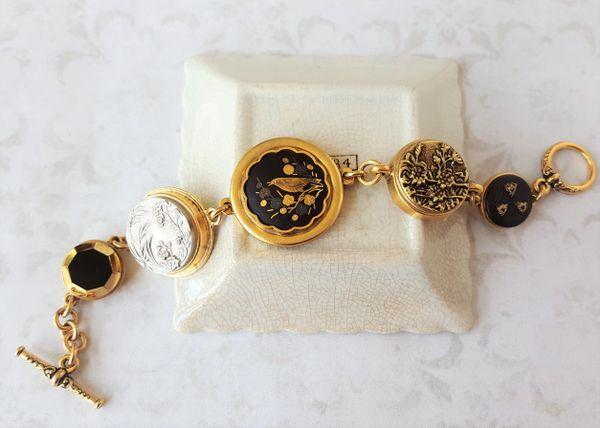 MARI - Damascene Bracelet