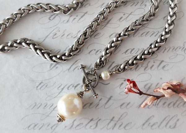 LANA - The Baroque Pearl Toggle Necklace