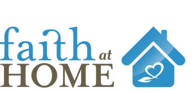 Logo for Faith at Home program