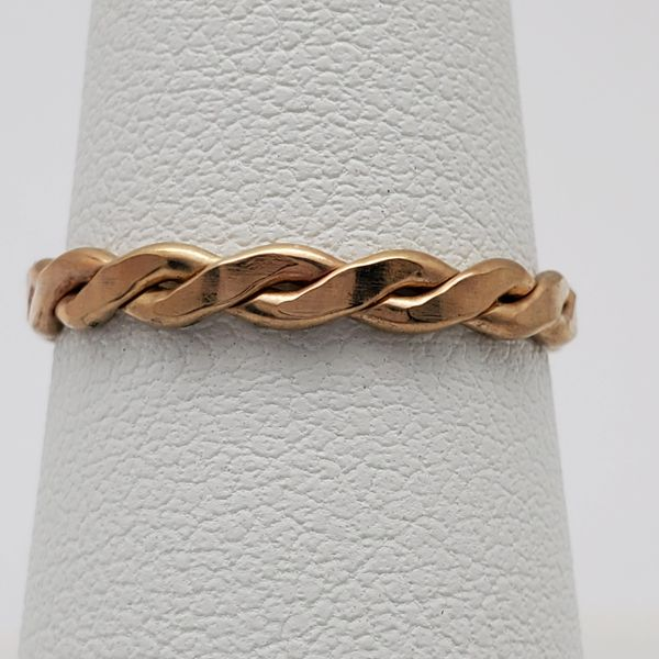 TOF035 - Gold Filled Medium Braid