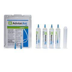 4 Tubes Dupont Advion Ant Gel Bait w/ 1 Plunger (30 grams per Tube)