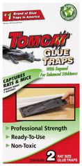 Tomcat Rat Size Glue Traps, 2-Pack (Eugenol Formula), Glue Board, Mice, Rats
