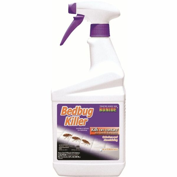 Bonide Pesticides Bedbug Killer Rtu Quart