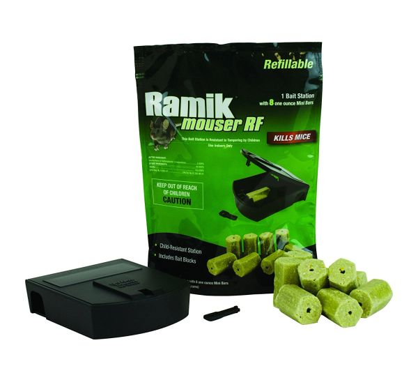 Ramik Mouser Refillable Bait Station (16 x 1 oz Baits)