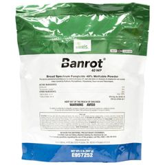 Banrot 40 WP (2 lb Bag) A Broad Spectrum Fungicide 40% Wettable Powder