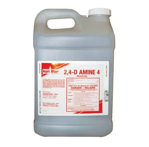 Agri Star 2,4-D Amine 4 or Gordon's 2,4D 400 Weed Killer, Herbicide, Gallon and 2.5 Gallon