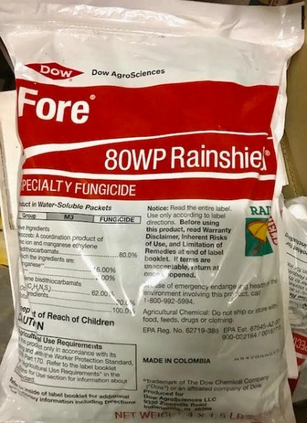 Fore Rainshield 80 WP Specialty Fungicide (4 x 1.5 lb WS packs)