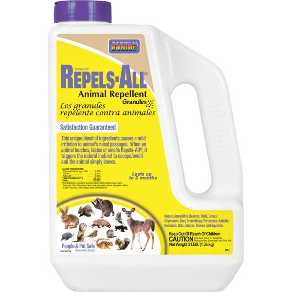 Shot Gun Repels All Animal Repellent Granules, by Bonide Products Inc, (3lbs.)