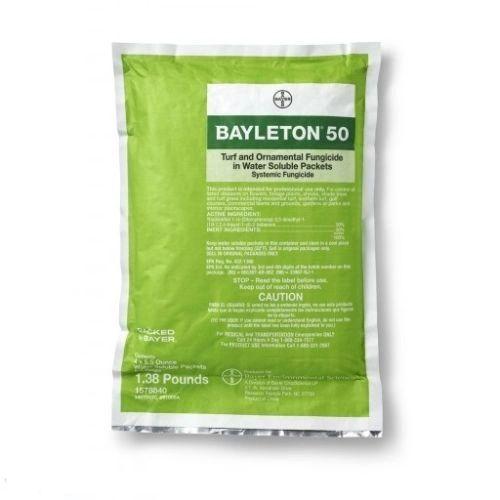 Bayer Bayleton 50 Fungicide WSP (Triadimefon - 50%) (4 x 5 5 oz  WSP)