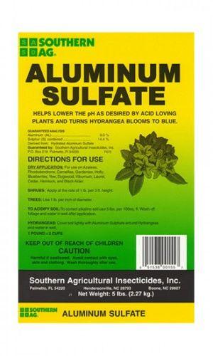ALUMINUM SULFATE - 5 pounds