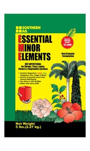 ESSENTIAL MINOR ELEMENTS Granular Formulation