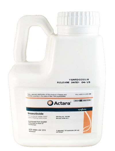 Actara Insecticide - 30 Ounces