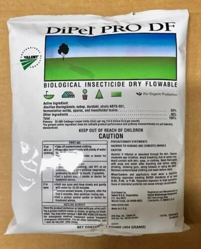 DiPel PRO DF Biological Insecticide (1-Pound)
