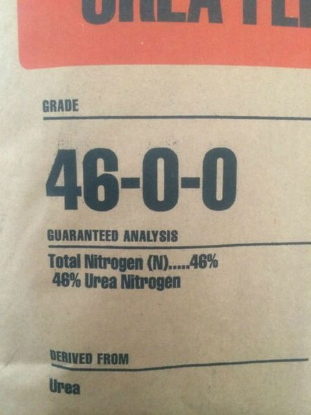 46-0-0 Fertilizer (Urea)