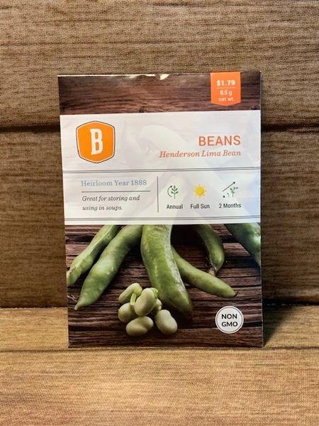 BEANS - Henderson Lima Bean