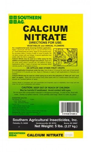 CALCIUM NITRATE - 5 pounds
