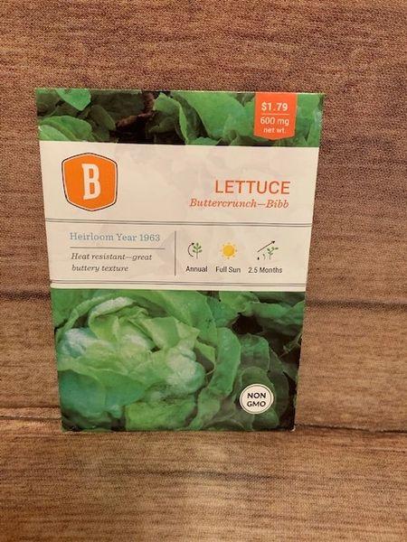 LETTUCE - Buttercrunch - Bibb