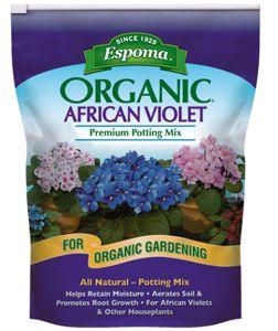 ESPOMA Organic African Violet Mix - 4 qt
