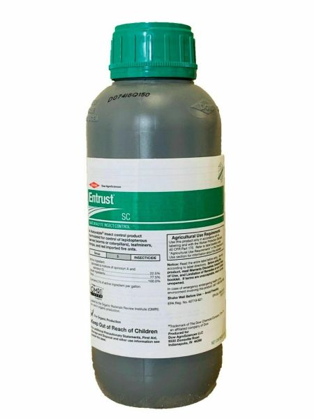 Entrust SC Naturalyte Insect Control-OMRI Listed- (Quart)