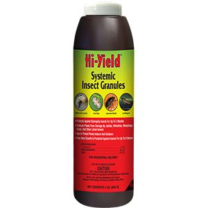 Hi-Yield Systemic Insect Granules - 1 lb or 8 oz