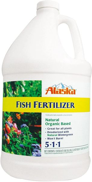 Alaska Fish Emulsion Liquid Organic All Purpose Plant Food - Gallon