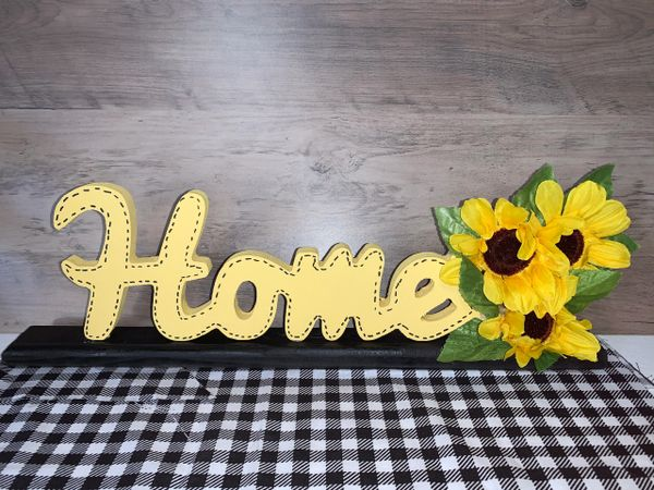 Sunflower HOME shelf sitter with base