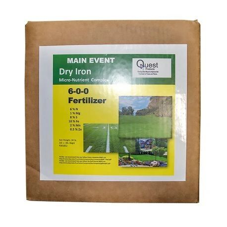 Main Event - Dry Chelated Iron - 6-0-0 (Non-Staining) (3 Lbs.)