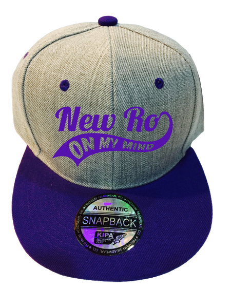 NEW RO ON MY MIND PURPLE CAP
