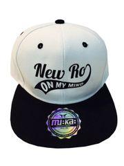 NEW RO ON MY MIND WHITE CAP
